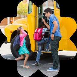Dedicated School Bus Stop